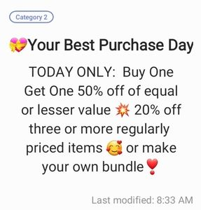 A Great Deal 🥰